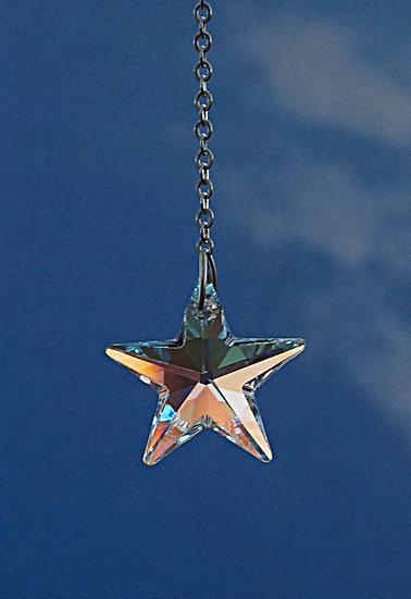 "28mm ""Star"" Rainbow Maker window crystal"
