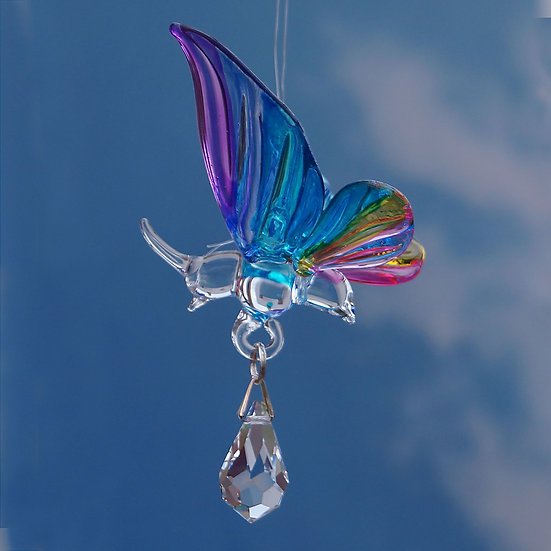 Butterfly Fantasy Glass