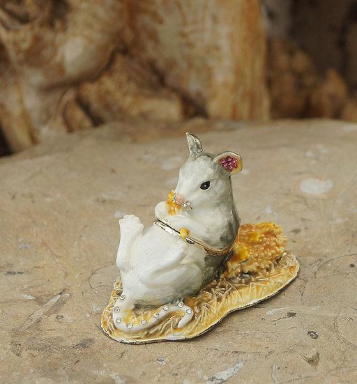 Cloisonne Mouse