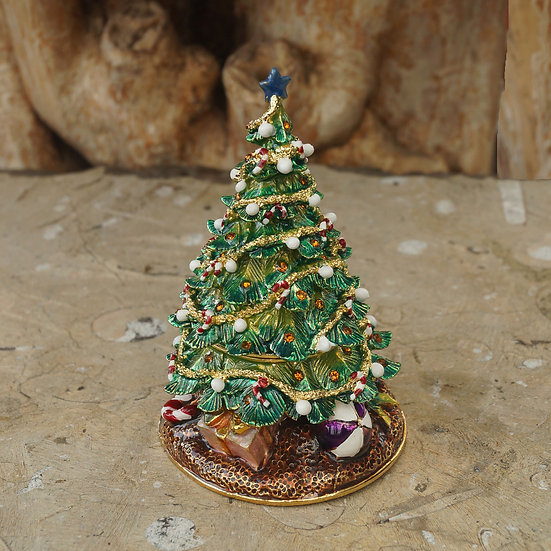 Cloisonne Christmas Tree