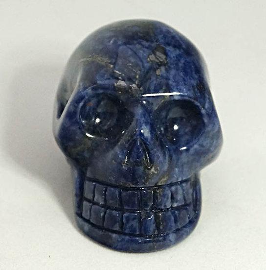Sodalite Skull     (sk9)