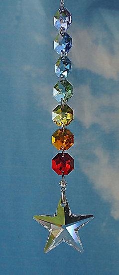 Crystal radiance40mm Star rainbow maker