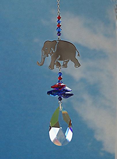 Crystal Fantasy Elephant Window Crystal