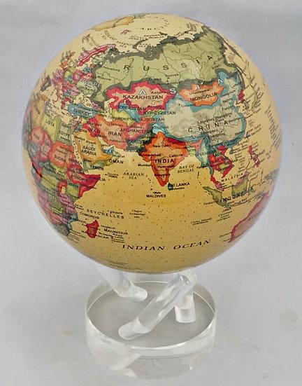 "Mova Globe 4.5"" Antique image"