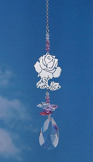 Rose Crystal Fantasy Window Crystal
