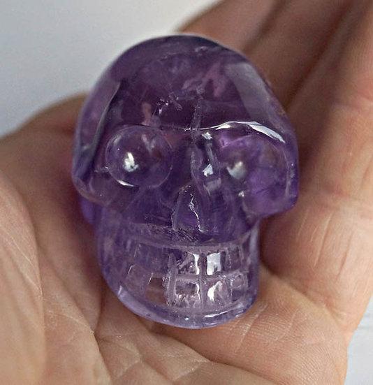 Amethyst Skull   (sk6)