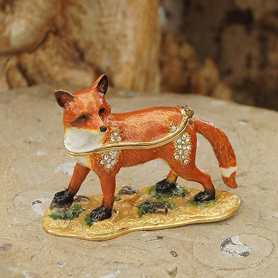 Cloisonne Fox