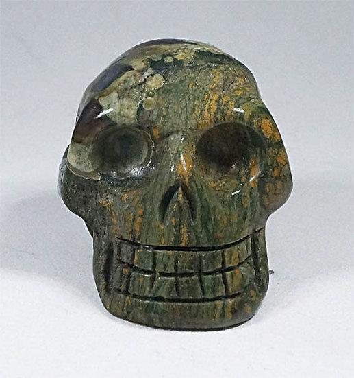 Spherulitic Rhyolite Skull   (sk11)