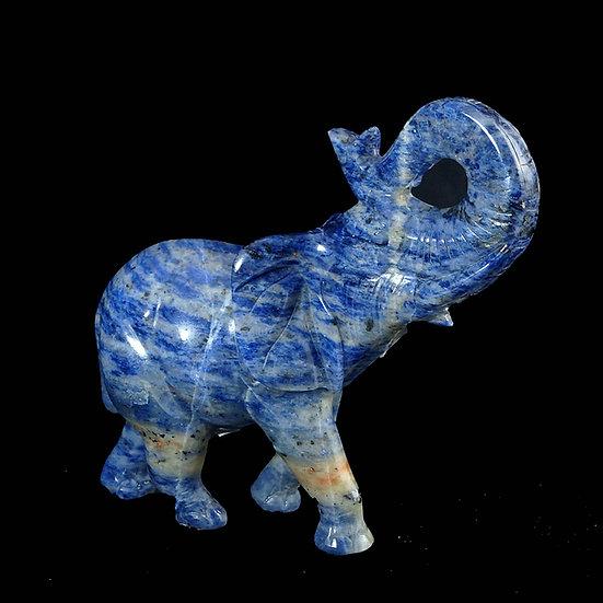 Sodalite Elephant