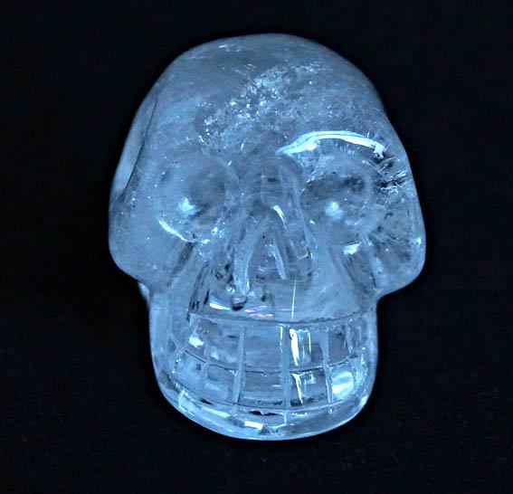 Rock Crystal Skull   (sk7)