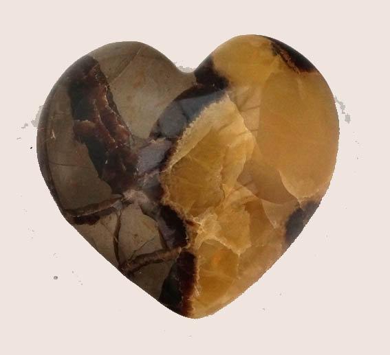 Septarian Heart   (ht1)