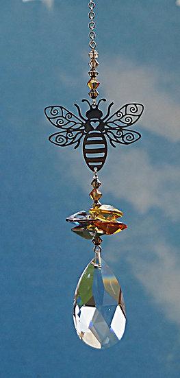 Crystal Fantasy Bee window crystal