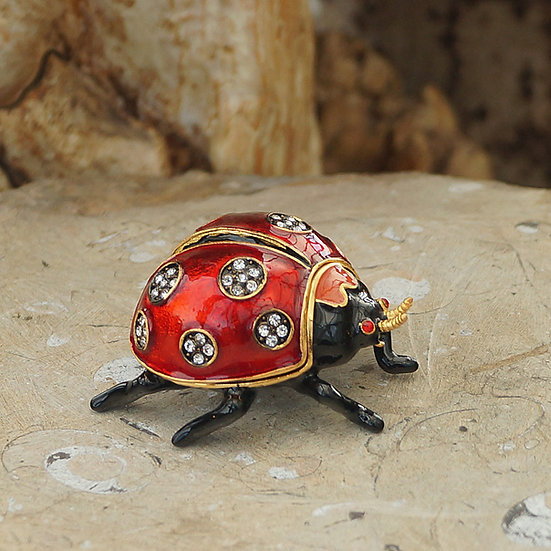 Cloisonne Ladybird