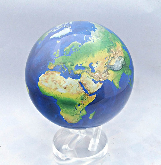 "Mova Globe 4.5"" Natural earth"