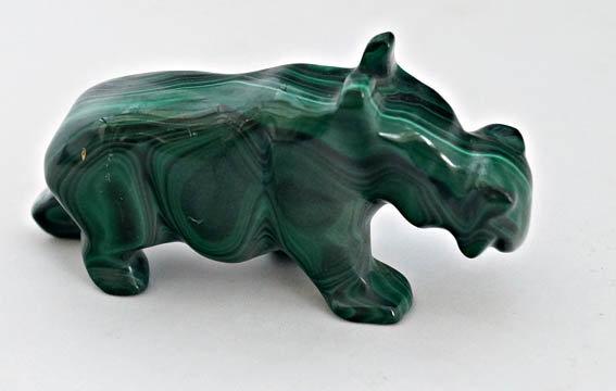 Malachite Hippo    (ac15)