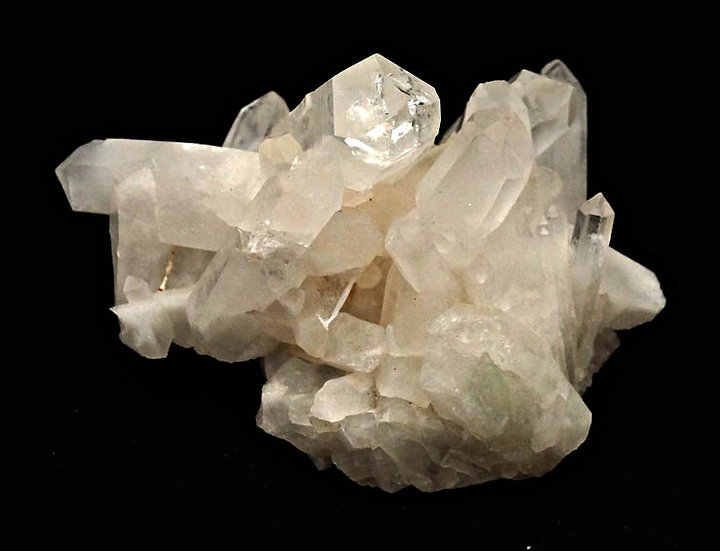 Rock Crystal Cluster  (qclus3)
