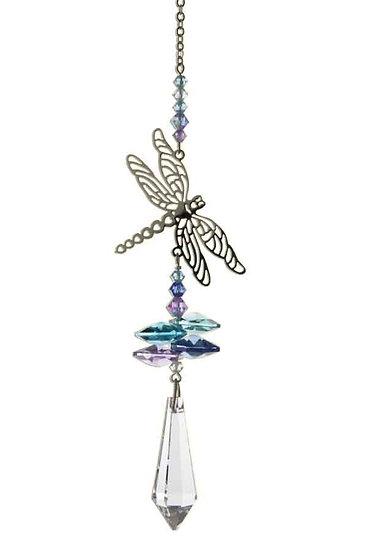 Dragonfly Fantasy Window Crystal