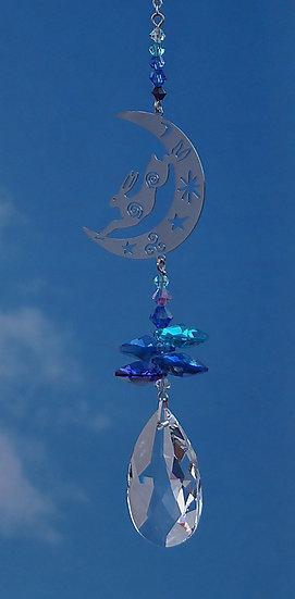 Hare Fantasy Window Crystal