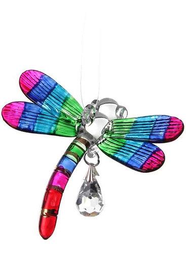 Dragonfly Fantasy Glass