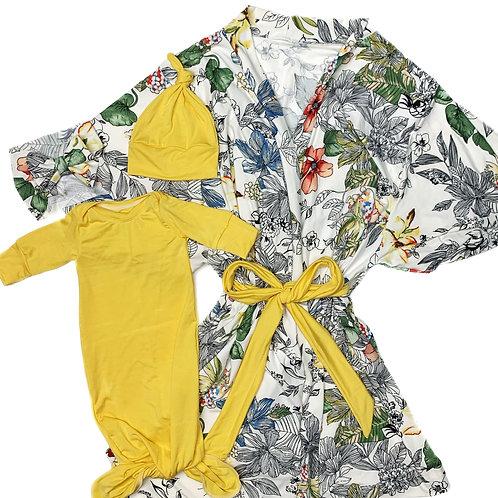Sketched Robe Set