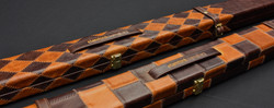 Vintage leather cases