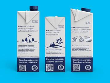 Na caixinha, Tetra Pak convida o consumidor a refletir sobre escolhas mais sustentáveis
