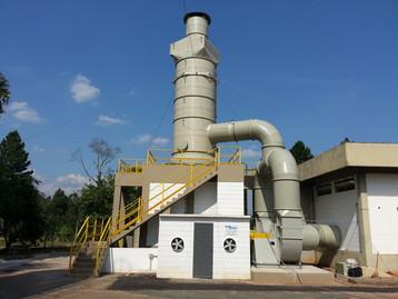 Lavadores reduzem gases e poluentes oriundos dos processos industriais