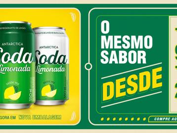 Soda Limonada ganha nova identidade visual