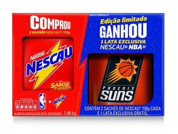 NESCAU LANÇA PACK PROMOCIONAL ESPECIAL PARA COMEMORAR JOGOS FINAIS DA NBA