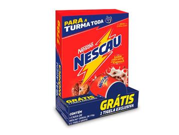 Nescau Cereal® lança pack promocional com item exclusivo