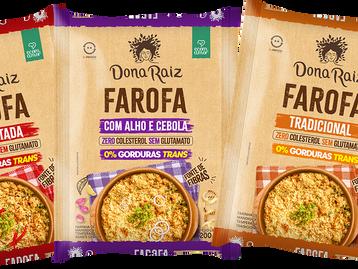 Dona Raiz lança farofa funcional