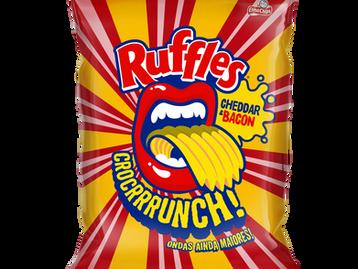 Ruffles lança o sabor Cheddar & Bacon em edição limitada