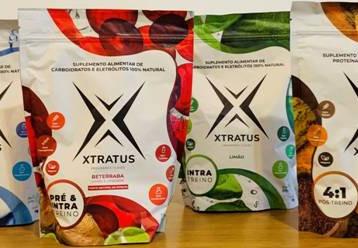 Xtratus adota novas embalagens para sua linha de suplementos e escolhe a Camargo Embalagens