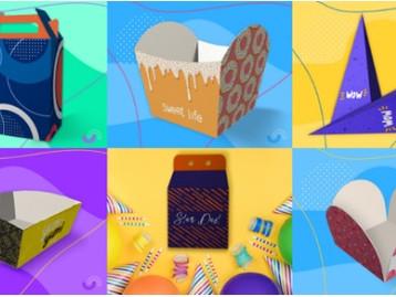 Printi lança 6 novos modelos de embalagens personalizáveis