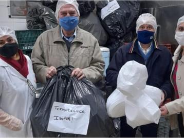 Termotécnica faz parceria para recolher e reciclar marmitas de isopor distribuídas pelos restaurante