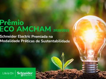 Schneider Electric é a vencedora do Prêmio ECO da Amcham