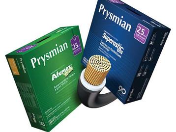 Prysmian lança novas embalagens do Afumex Green e Superastic Flex