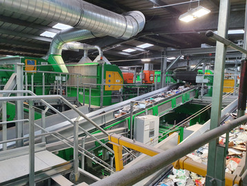 TOMRA Sorting Recycling e STADLER UK Limited escolhidos