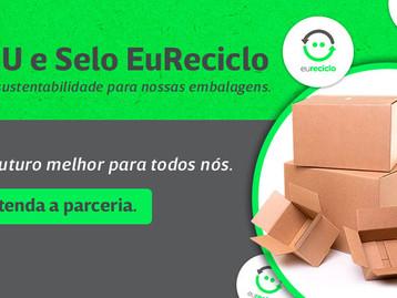 Klabin adota selo 'eureciclo' em suas embalagens de e-commerce