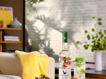 Vodca Grey Goose lança linha Essences no Brasil com teor alcoolico reduzido