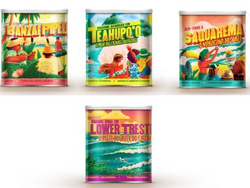 Neston lança latas colecionáveis das praias mais famosas do surf em parceria com a WSL