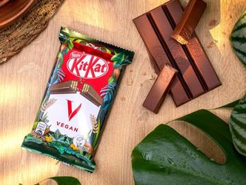 KITKAT® ouviu as redes sociais e inova: chegou a versão vegana do chocolate