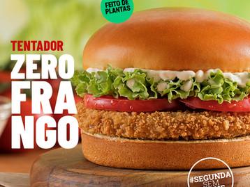 Bob's inova mais uma vez e lança segunda versão de hambúrguer vegetal