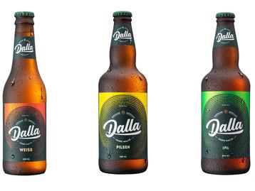 Dalla Cervejaria repagina linhas com garrafas da Verallia