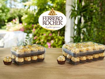 Milliken desenvolve embalagem mais sustentável para a Ferrero Rocher