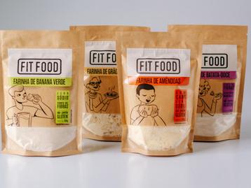 Novas farinhas funcionais da FIT FOOD são ricas em fibras e minerais