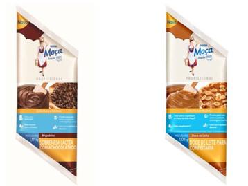 Nestlé lança brigadeiro e doce de Leite Moça em nova embalagem para profissionais