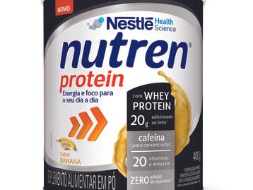 Nutren® Protein ganha nova versão sabor banana