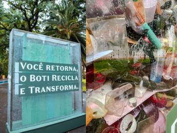 O Boticário transforma plástico reciclado para melhorar a estrutura de escolas em todo o Brasil