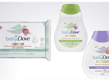 Baby Dove anuncia relançamento de toda a linha de produtos